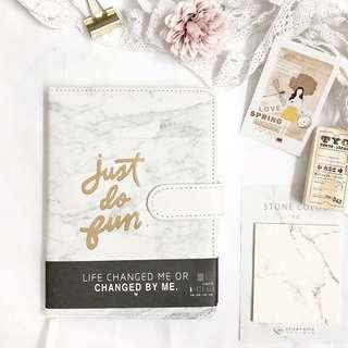 Journal/Planner (Marble Design)