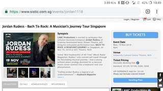 Jordan Rudess - from Bach to Rock Concert Tickets