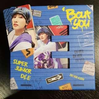 D&E 'Bout You Album (Eunhyuk ver.)