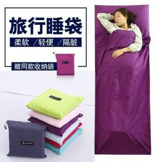 旅行便携睡眠袋