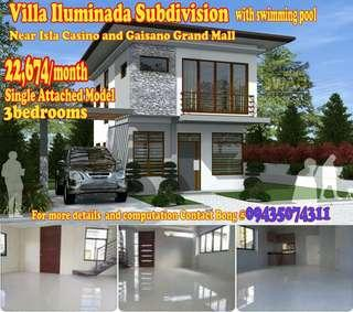 3bedroom house and lot in Pajac Lapulapu City