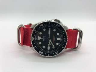 Brilliant Red NATO Strap!