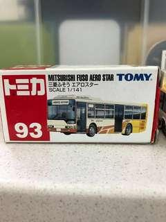Tomica Tomy 93 巴士 Bus