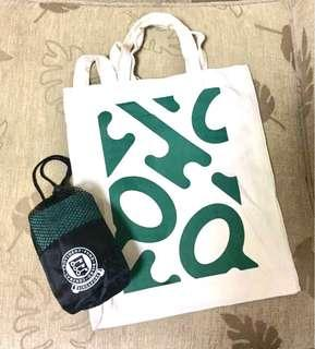 BN Face Towel and Tote Bag by CPF