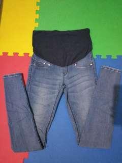 H&M Blue Maternity Pants