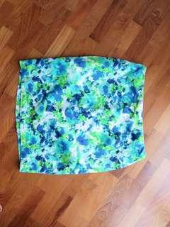 Forever 21 Marble Pencil Skirt