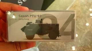 Tiny 微影 煞臣 93 Saxon PTU 04 全新未開對包膠