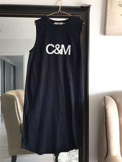 C & M TANK DRESS