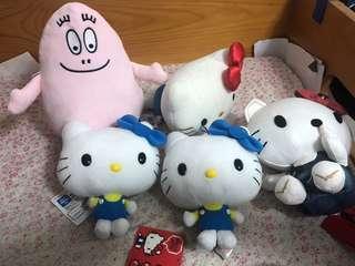 Hello Kitty毛公仔  $40隻