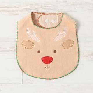 [PO] Afternoon Tea Christmas Reindeer Baby Bib