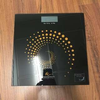 Fitness Concept : ultra slim fitness scale (digital scale)