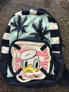 Disney Donald Duck Backpack 迪士尼唐老鴨背包