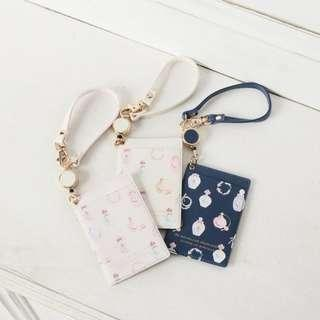 [PO] Afternoon Tea Pass case with Perfume Motif Pattern code reel
