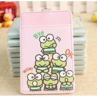 6 Keroppi Frogs Ezlink Card Holder Keychain