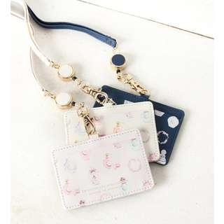 [PO] Afternoon Tea ID Case with Perfume motif pattern code reel