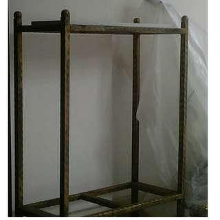 Metal Stand for Fish Tank with White Melamine Board