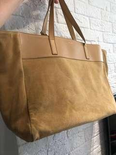 Saint Laurent East West reversible tote bag two sided ysl