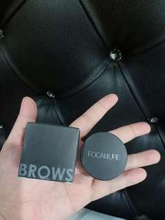 focallure eyebrow pomade shade dark brown