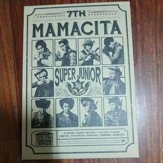 🚚 mamacita sj七輯含b版希澈小卡