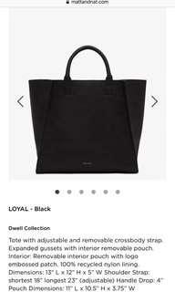 Matt and Nat Loyal Bag