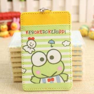 Sunny Doll Keroppi Frog Ezlink Card Holder Keychain