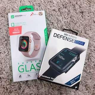 (NEW)Apple Watch 38mm series 1/2/3 case and screen protector