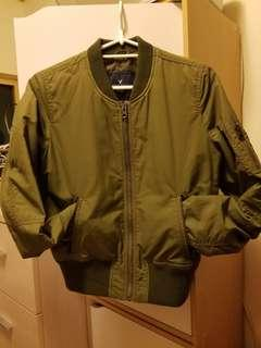 95% new American Eagle military jacket women