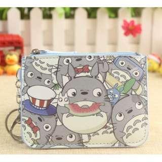 Watermelon Totoro Ezlink Card Holder Coin Purse