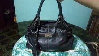 Balenciaga tassell tote shoulder bag