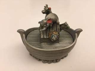 Selangor Pewter Noah's Ark Trinket Box