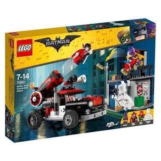 Lego 70921 Batman Movie Harley Quinn Cannonball Attack