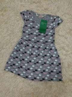 H&M organic cotton dress (18m-2y)