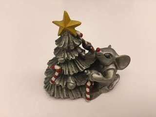 Selangor Pewter Christmas Tree Mouse