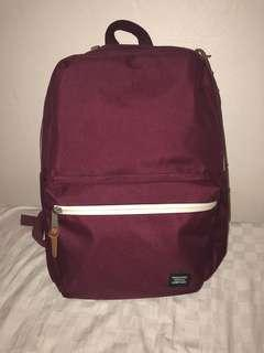 Herschel Burgundy Backpack