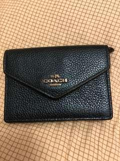Coach envelop card case with ring 專門店款