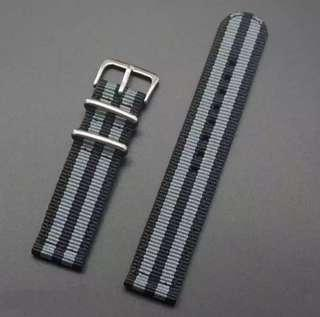 Nylon Strap 22mm for Samsung Gear Amazfit Pace Stratos Moto