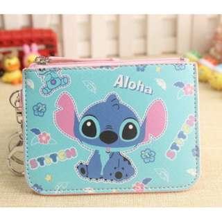 Aloha Stitch Ezlink Card Holder with Coin Purse