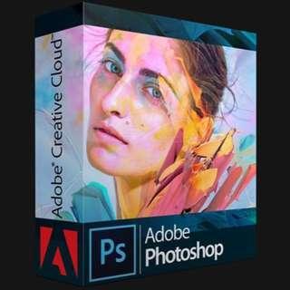 Adobe Photoshop CC 2018/ Illustrator / Premiere Pro (Windows + Mac) (include Installation)
