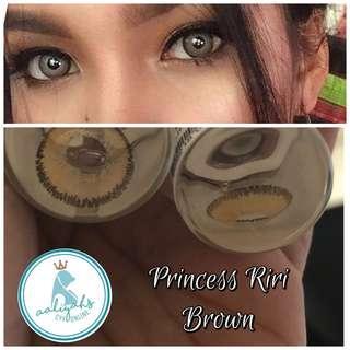 [Contact Lens] Princess Riri in Brown
