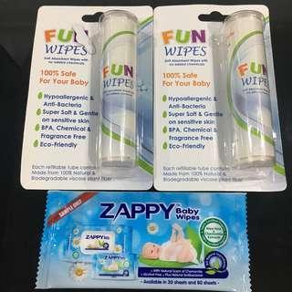 Zappy Baby Wipes / Fun Wipes