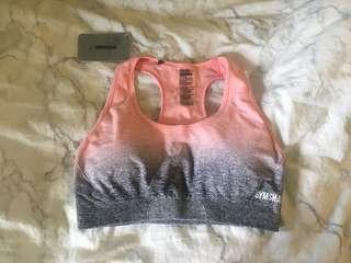 NWT Gymshark Ombre Seamless Sports Bra Size Large