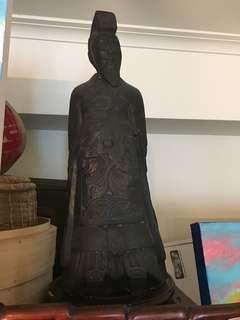 Chinese Emperor Statue from Xian approx. 22inches