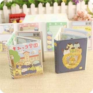 🚚 [In stock] 4 in 1 Sumikko Gurashi Post-It notes