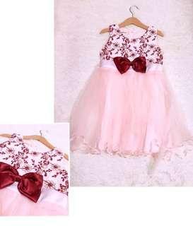 刺繡氣質紗裙