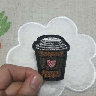 Embroidered Patch: Coffee To-Go