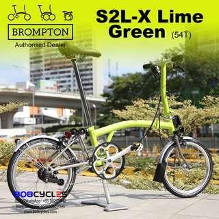BROMPTON S2LX Lime Green (54T)