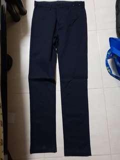 Uniqlo chino flat front pants