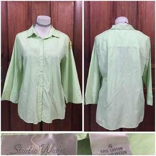 Plus size polo blouse (xL-2x) 50 pesos only!