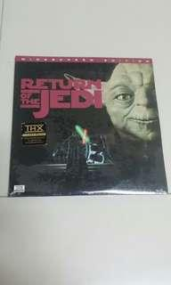 Return Of The Jedi Laser Disc