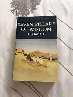 Brand New- Seven 7 Pillars of Wisdom by T.E. Lawrence (Wordsworth Classics of World Literature)